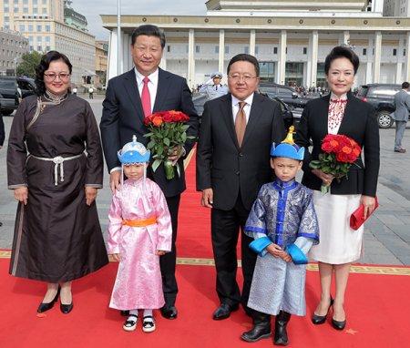 БНХАУ-ын дарга Си Жиньпины айлчлал - Чингисийн талбайн арга хэмжээ