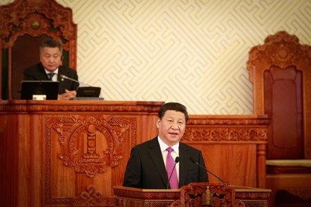 БНХАУ-ын дарга Си Жиньпины айлчлал - УИХ-ын Хүндэтгэлийн хуралдаанд оролцов.