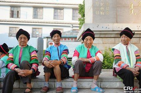 Чулуу нуурын хөвөөн дэх монголчууд